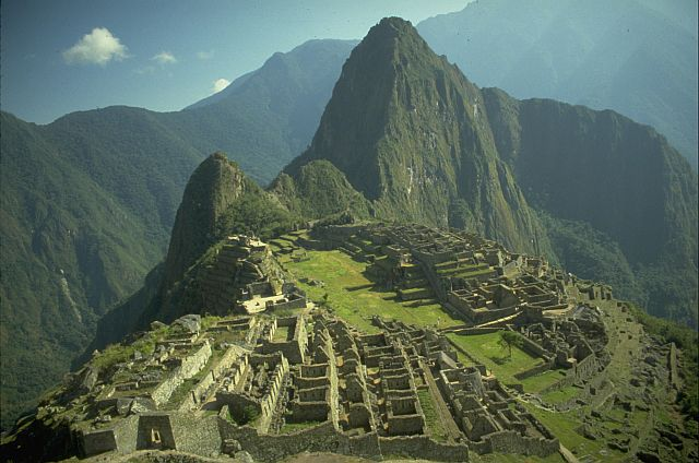 Macchu Picchu in the Morning